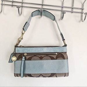 NWOT Coach small purse with matching coin purse